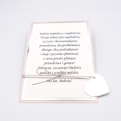 KARTKA NA DZIEŃ BABCI SREBR...